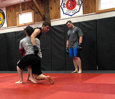 No-gi Brazilian Jiu Jitsu, BJJ